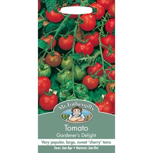 Seminte TOMATO Gardener's Delight - Tomate cherry foarte productive