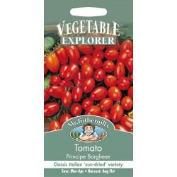 Seminte TOMATO Principe Borghese - Tomate prunisoare, pentru uscat, soi traditional italienesc