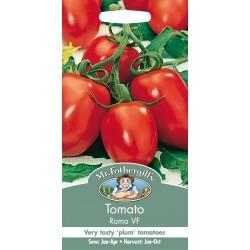 Seminte TOMATO Roma VF - Tomate prunisoare, pentru bulion, soi traditional italienesc