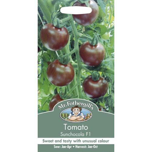 Seminte TOMATO Sunchocola F1 - Tomate medii negre