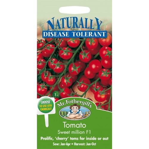 Seminte TOMATO Sweet Million F1 - Tomate rezistente la mosaic si fusarium