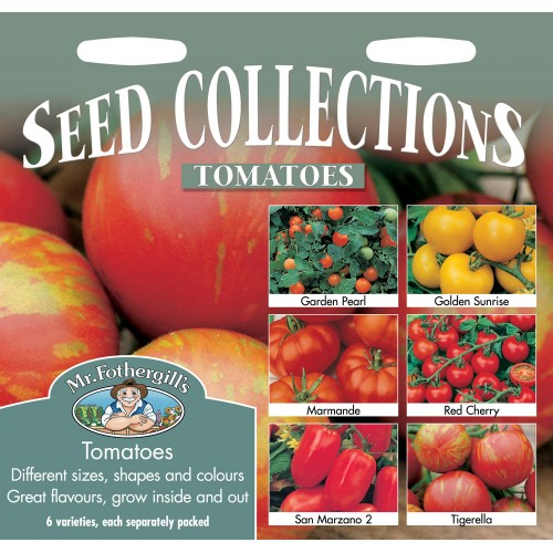 Seminte TOMATO COLLECTION - Tomate colectie - 6 soiuri