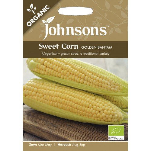 Seminte ZEA mays Golden Bantam ORG - Porumb dulce organic