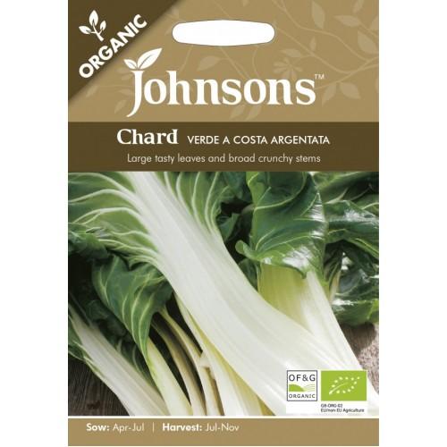 Seminte BETA vulgaris-Chard- Verde a Costa Argentata ORG - Sfecla de petiol-Mangold