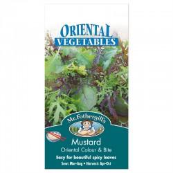 Seminte BRASSICA juncea Oriental Colour & Bite-Mustar oriental (baby leaf)