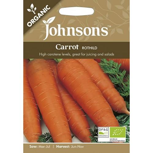 Seminte DAUCUS carota-Carrot-Rothild ORG - Morcov mare
