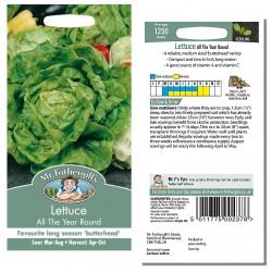 Seminte LACTUCA sativa-Lettuce-All The Year Roun - Salata verde, pt orice sezon