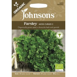 Seminte PETROSELINUM crispum Moss Curled ORG - Patrunjel cret