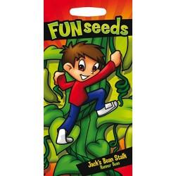 Seminte PHASEOLUS coccineus-Runner Bean-Jack's Bean Stalk-Enorma - Fasole urcatoare viguroasa