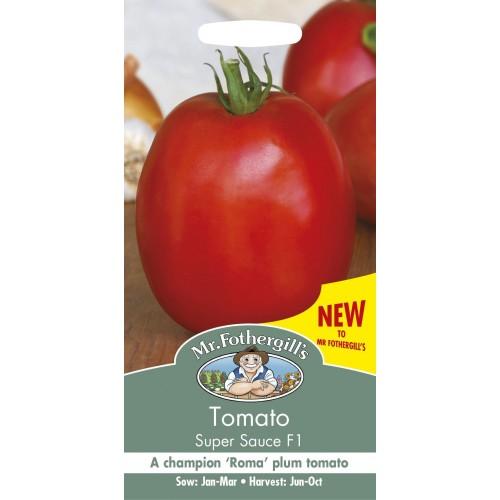 Seminte TOMATO Super Sauce F1 - Tomate carnoase